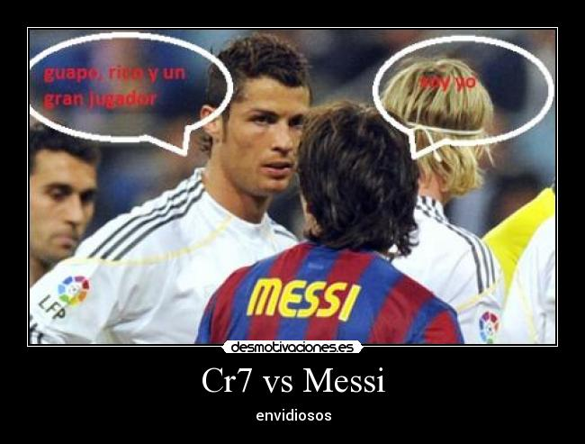 Cr7 Vs Messi