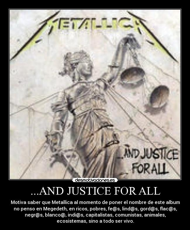 And Justice For All Metallica Jpg Tattoo