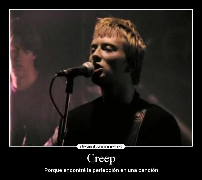letra de la cancion creep de radiohead: