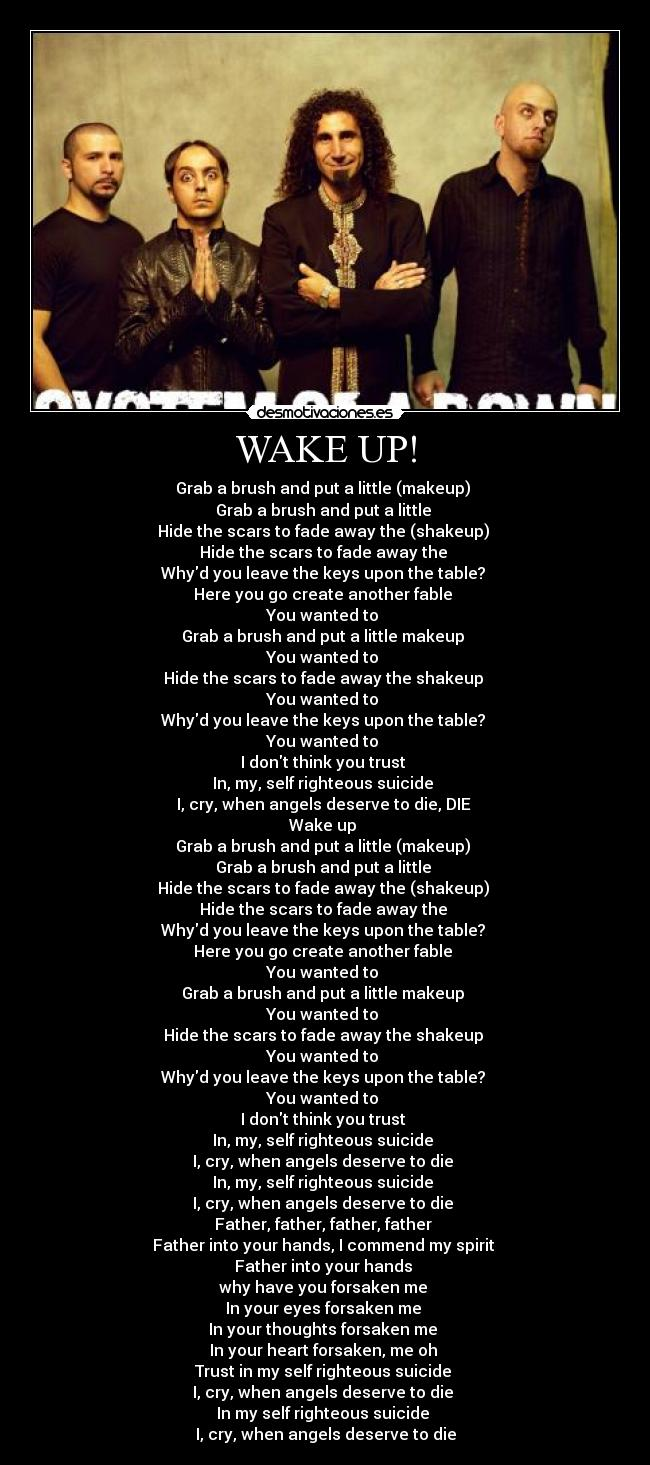 Wake up put on