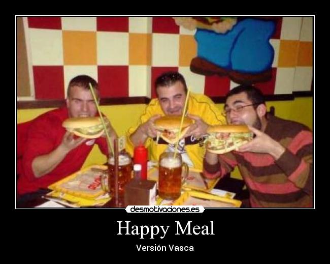 Happy Meal - Versión Vasca