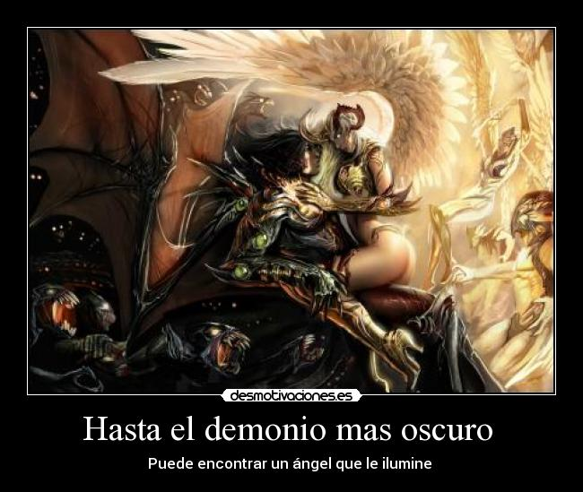 carteles scream shout are the fallen angels desmotivaciones