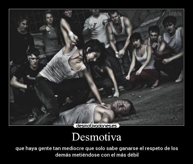 La vida Desmotiva! :´(
