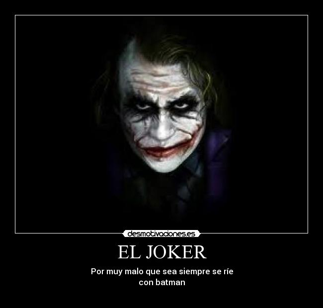 Imágenes, Carteles y Desmotivaciones de joker