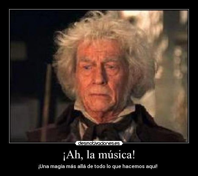 Ah La Música Desmotivaciones