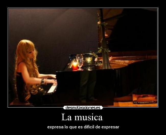 La Musica Desmotivaciones