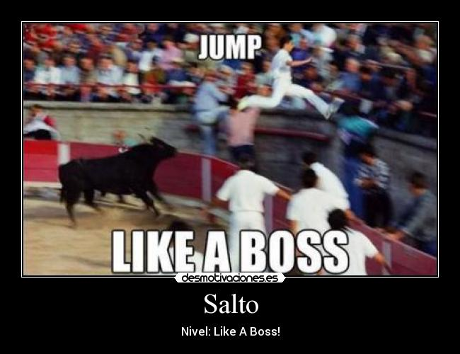 Salto - Nivel: Like A Boss!