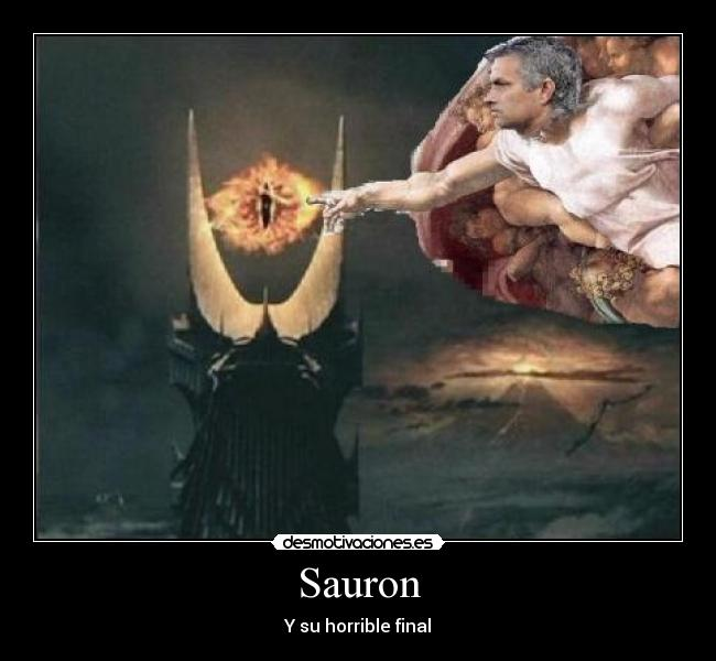 Sauron - Y su horrible final