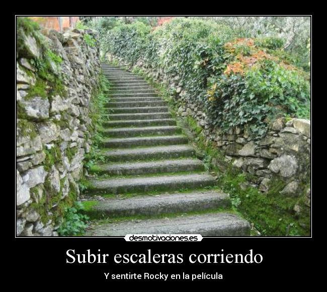 Subir Escaleras Corriendo Desmotivaciones