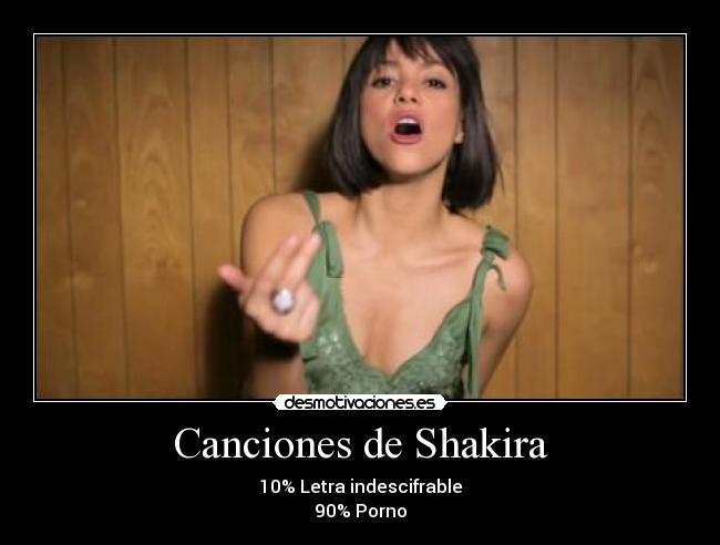 letras de las canciones shakira: