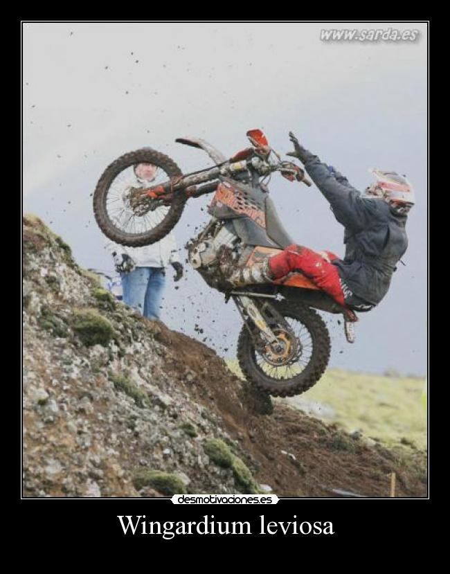 carteles motocross desmotivaciones