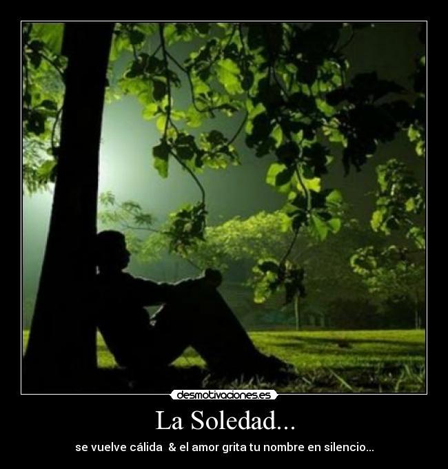 soledad hombre tristeza