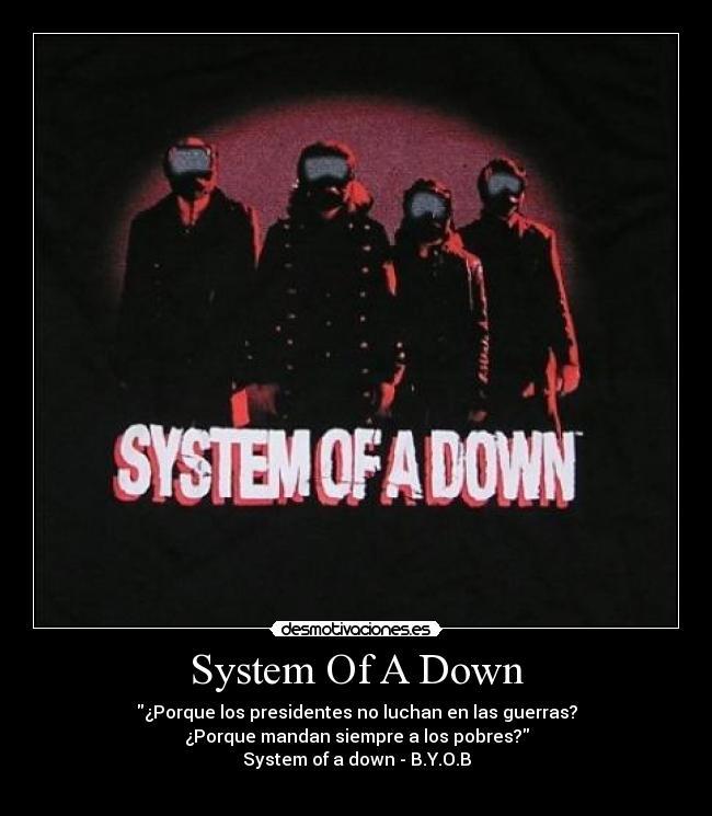 Desmotivaciones Metaleras: System Of A Down