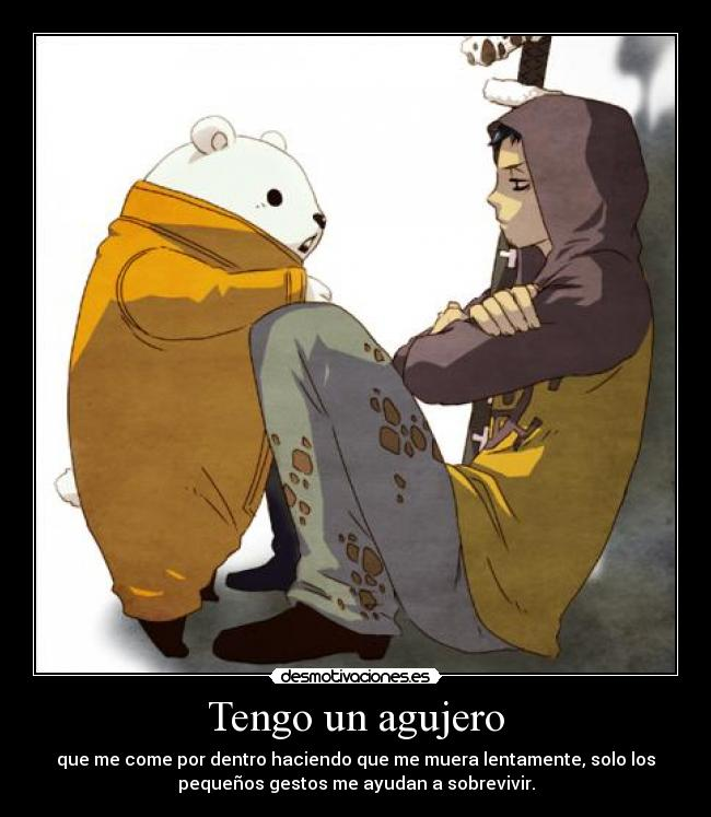 carteles bepo one piece trafalgar law desmotivaciones