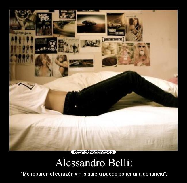 Alessandro Belli Desmotivaciones