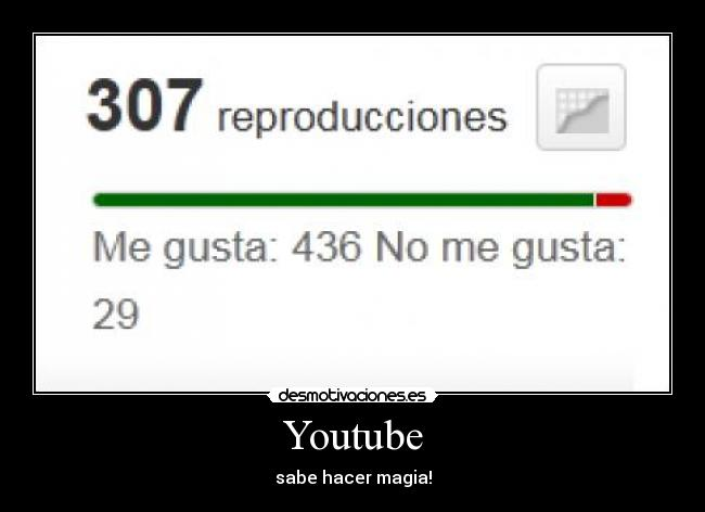 Youtube - sabe hacer magia!