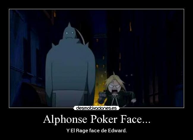 Fma poker face