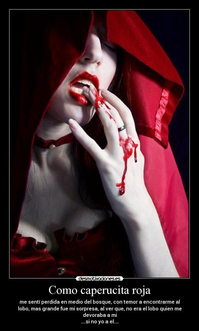 Como Caperucita Roja Desmotivaciones