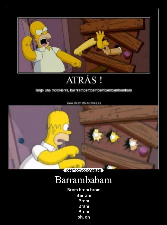 Barrambabam - Bram bram bram Barram Bram Bram Bram oh, oh