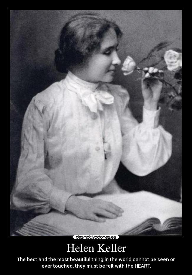 Helen Keller Desmotivaciones