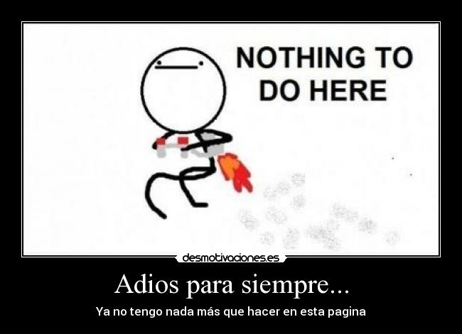 carteles nothing this page desmotivaciones