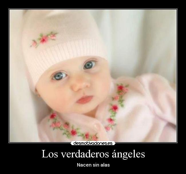 imagenes de angeles bebes con frases