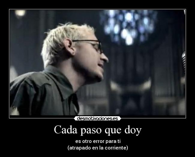 letra linkin park and one: