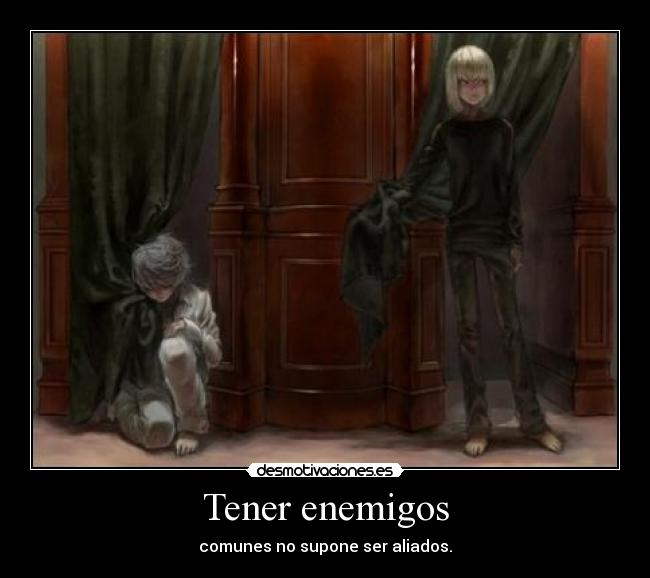 carteles death note near mello kira ryuk desmotivaciones