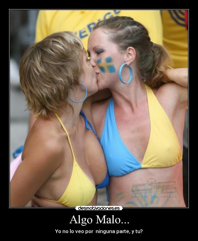 Besos calientes lesbianas sexy