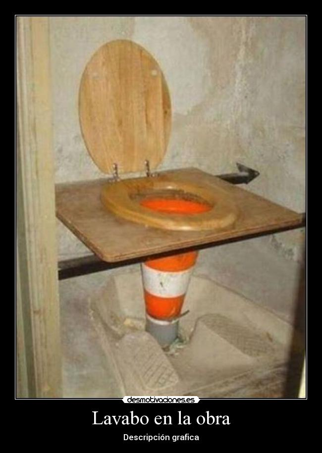 Im genes y carteles de lavabo pag 6 desmotivaciones for Lavabos de obra