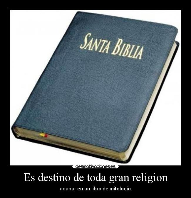 imágenes antireligiosas (Desmotivaciones)