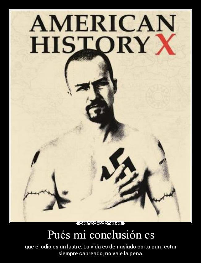 american history x review essay