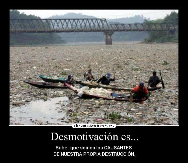 carteles dano ambiental desmotivaciones