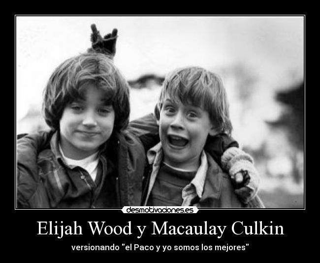 elijah wood y macauly culkin