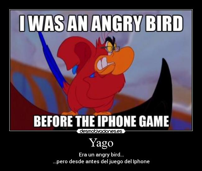 carteles aladin yago angry bird iphone hipster mainstream keepoffhipsters clanhoygan desmotivaciones