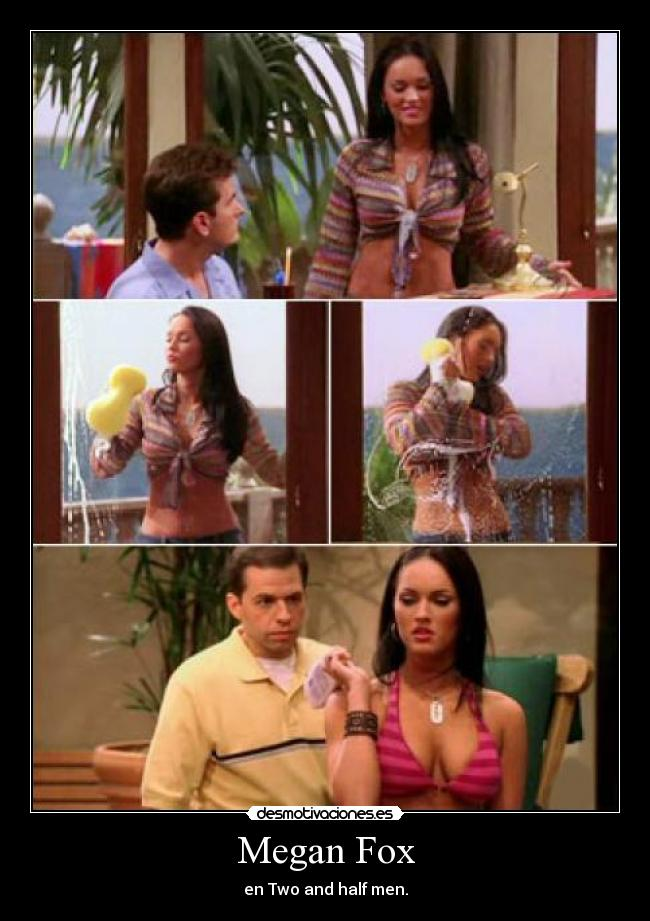 Megan Fox - en Two and half men.
