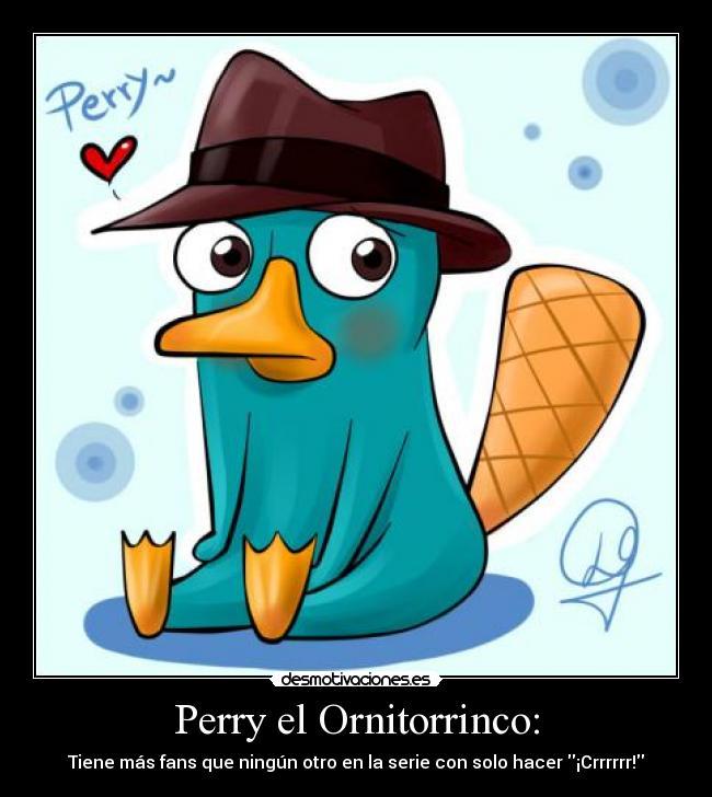 Perry el Ornitorrinco enamorado - Imagui