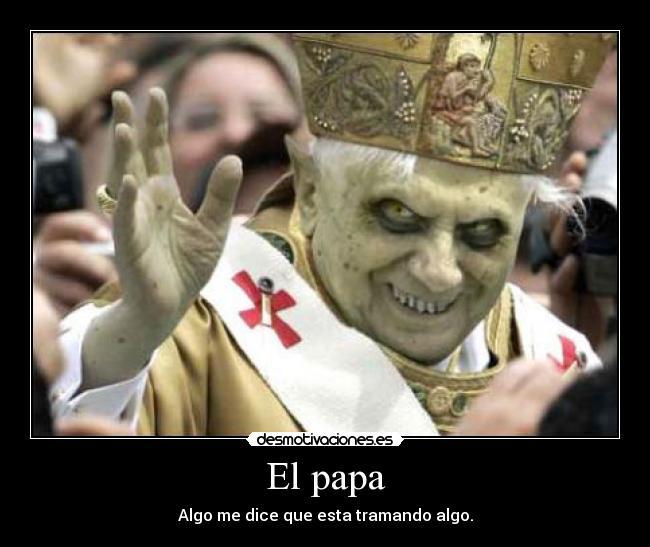 El Papa Benedicto es un homosexual