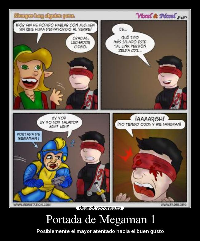 Usuario elpapa2 desmotivaciones for Megaman 9 portada