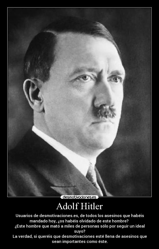 adolf hitler synopsis 2 Adolf hitler essay when world war 1 rolled into german town hitler joined the bavarian army he served in the sixteenth bavarian infantry unit as a messenger.