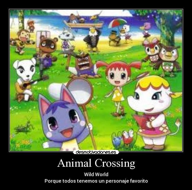 Animal Crossing - Wild World Porque todos tenemos un personaje favorito