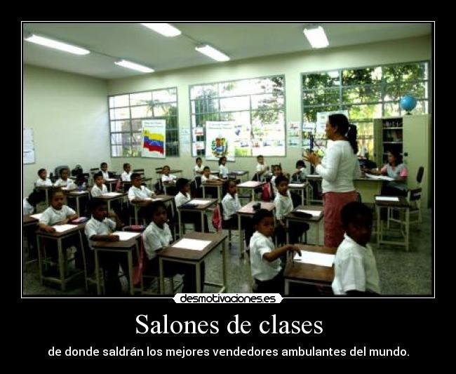 Salones De Clases Desmotivaciones Los Mejores Salones Decorados