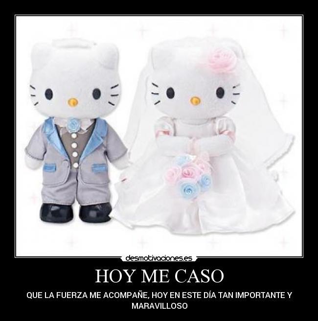 HOY ME CASO