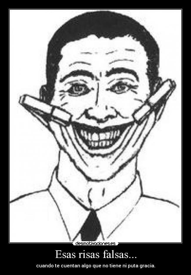 carteles risa falsa desmotivaciones