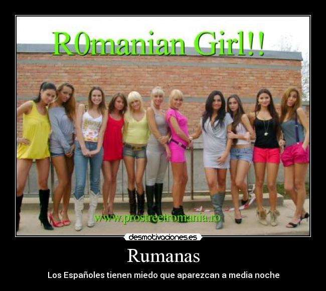 rumanas prostitutas prostitutas en solares