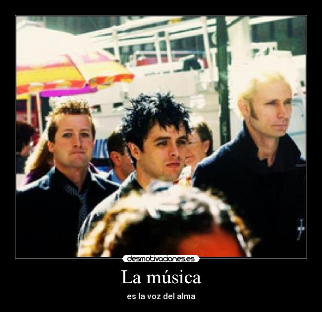 carteles musica musica chemical romance thirty seconds mars green day nirvana queen sex pistols oasis the bea desmotivaciones
