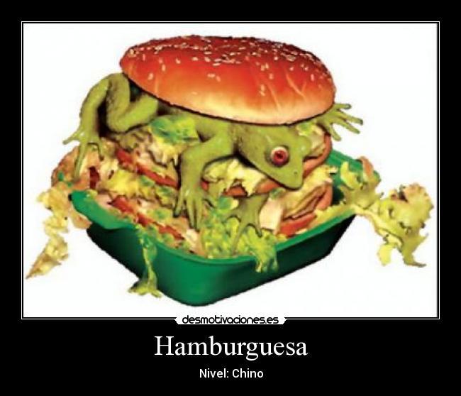 Im genes y carteles de hamburguesa pag 58 desmotivaciones for Cama hamburguesa