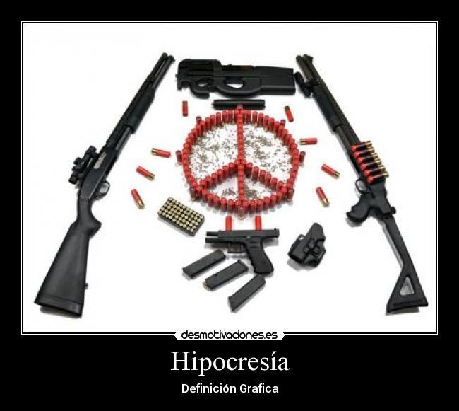 carteles hipocrecia difinicion grafica desmotivaciones