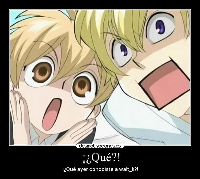carteles tamaki honey ouran high school host club walt_k king paste loli-shota principesco anime desmotivaciones