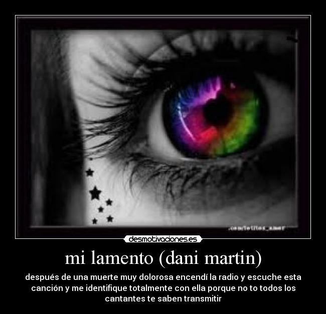 Dani Martin Mi Lamento